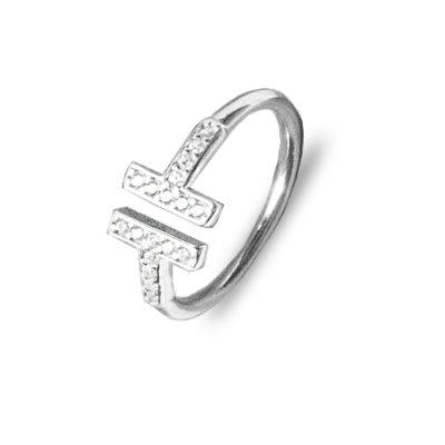 Prekrasan srebrni prsten podesiv po veličini