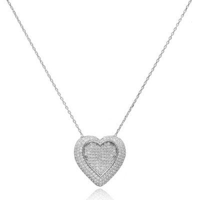 nakit srebrni lančić